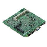 Sleep Fanless J1800 Nano Fanless van de baai bedde Industriële Motherboard 2 LAN in Com/2