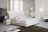 2015년 최신 판매 현대 우아한 디자인 성숙한 가죽 침대 (HC1131)