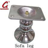 ハードウェアの家具のソファーの管の足(CH13)