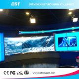 Afficheur LED de publicité d'intérieur de taux contrasté, écran polychrome de P3 DEL