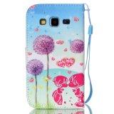 Gekleurde paardebloem het Trekken van de Dekking/het Geval van de Telefoon van de Cel voor Samsung G3608/G5308/Note 5/P8/S3/S4/S5/S6