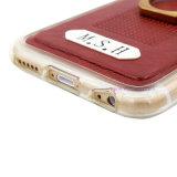 Крышка/случай Хорош-Текстуры кожаный передвижные с держателем кольца для франтовского телефона