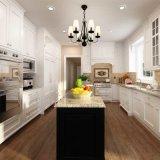 Oppein Proyecto Blanco Sólido Madera modular del gabinete de cocina (OP14-S00)