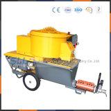 Machine de pulvérisation Mortier-Mélangée automatique de rendement élevé de la Chine pour le mur