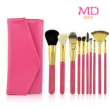 De Make-up Cosmetic Brush Set van PRO 7PCS Pink Tubular (tool-182)