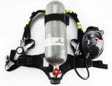 Aparato respiratorio de la seguridad de la lucha contra el fuego de la herramienta 6.8 de Lither del carbón del tanque personal de la fibra