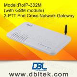 RoIP-302m 십자가 Network Roip Gateway 또는 Intercom System (IP)/Portable Radio에 Radio