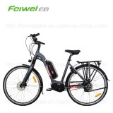 bicicleta eléctrica del Mediados de-Motor del marco abierto 700c (TDB15Z-1)