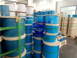 PVC 입히는 철강선 밧줄 316 7*7-1.25/2mm