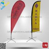Vlag en de Banner van de Veer van de Traan van het Strand van de Reclame van de douane de Goedkope Promotie