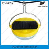 Lâmpada de sensor solar do movimento do uso flexível com a bateria 500mAh
