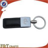 Cuoio genuino Keychain dell'hotel su ordinazione con il numero differente (FTKC1758A)