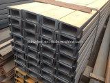 Profilé en u d'acier de construction de Q235B avec la qualité