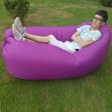 夏浜旅行たまり場のKids&Adult膨脹可能なLaybagのキャンプの寝袋のベッド