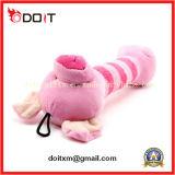 Brinquedos cor-de-rosa do animal de estimação do luxuoso do porco da alta qualidade