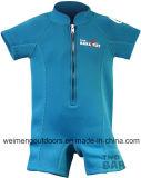 再使用可能な水泳の赤ん坊のおむつ、暖かいウェットスーツ、浮力の水着。 Wm044