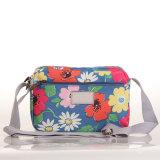 (99032-4) 2016 여름 방수 화포 꽃 끈달린 가방 핸드백