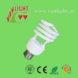 Media luz ahorro de energía espiral del T2 23W, lámpara de CFL