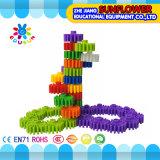 Kind-Plastiktischplattenspielzeug Buliding Blöcke