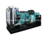 C.A. refrigerar de água 60kVA gerador Soundproof Diesel do ATS de 3 fases