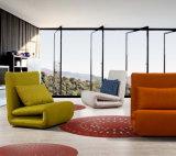 ホーム使用居間の家具のための紫色ファブリックソファーベッド