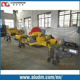 Flying Saw를 가진 알루미늄 Extrusion Machine Fully Automatic Single Puller