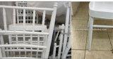 Mariage Chiavari en aluminium de banquet d'hôtel empilant la présidence