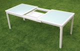 Neuer Design Garten Furniture Extension Table und Chairs Set