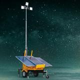 Tour légère mobile solaire de levage hydraulique lourde de la construction DEL