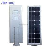 Дешевое цена все в одном уличном свете 50W СИД солнечном с панелью солнечных батарей батареи (JINSHANG СОЛНЕЧНЫЕ)