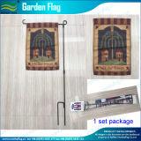 Tela impressa do uso dos filmes costume quente que anuncia as bandeiras do jardim (M-NF06F11010)