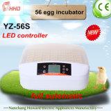 Incubatrice poco costosa automatica piena chiara delle quaglie di Hhd LED (YZ-56S)