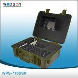 Inspeção impermeável larga da câmera da tubulação do ângulo de vista, sistema de inspeção do encanamento do dreno