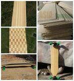 Folheado de bambu de um Longboard de 1/16 de polegada