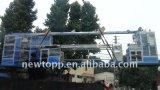 ETFE/FEP/PFA 테플론 철사와 케이블 밀어남 기계