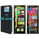 Sistema 10kVA 20kVA 30kVA 40kVA 50kVA 60kVA 80kVA 100kVA 120kVA 150kVA 160kVA 200kVA 250kVA 300kVA 350kVA 400kVA 450kVA 500kVA (UPS) de la fuente continuo de alimentación