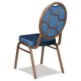 Empilhando a cadeira de jantar de aço do banquete do preço de alumínio barato do hotel do metal