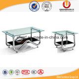 Mesa de centro de vidro para a mobília da sala de visitas (UL-STX1)