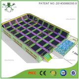 Retângulo Trampoline com Enclosure (3021G)
