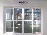 Puerta deslizante del PVC de la concha 80