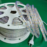 Blanco flexible de PCB8mm IP65 SMD5050/Warrm LED blanco Striplighting