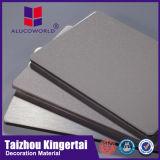 Couleur glacée élevée d'Alucoworld annonçant le panneau composé en aluminium de conseil