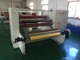 Adhesive Tape.를 위한 자전 Double Shafts Rewinding Machine