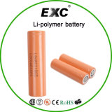 Li-ion authentique 18650 2000 de batterie d'ion de lithium du cylindre 3.7V