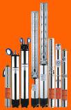 Pompe submersible multi à plusieurs étages à haute pression de vortex de puits profond de turbine