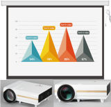 120 Zoll 150-Zoll-16:9 elektrische Projektor-Bildschirm-Decken-hängender Projektor-Bildschirm