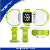 シリコーンバンドが付いているOEMの多機能の方法スマートな腕時計