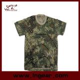 T-shirt à séchage rapide de mode de Kryptek Camo pour la chemise de sport en plein air
