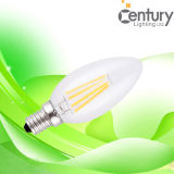 Langes Lifespan C35 4W Dimmable Filament LED Candle Light, 4W LED Bulb