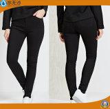 工場カスタム方法デニムのLeggingの女性のLeggingのズボン